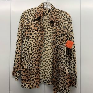 Vintage Cheetah Button Down